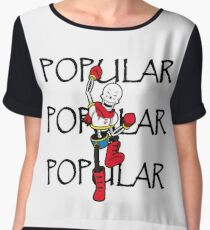 Undertale Papyrus Popular Chiffon Top