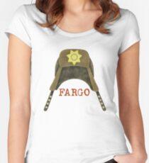 Fargo Sheriff Marge Gunderson Women's Fitted Scoop T-Shirt