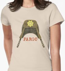 Fargo Sheriff Marge Gunderson Womens Fitted T-Shirt