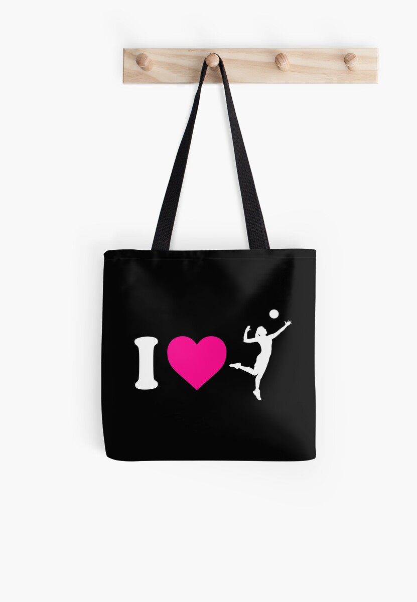 c23ca24ed2 I Heart Volleyball Womens Silhouette