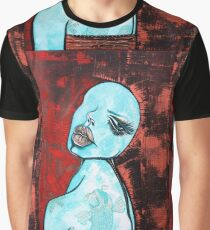 Turquoise Girl Graphic T-Shirt
