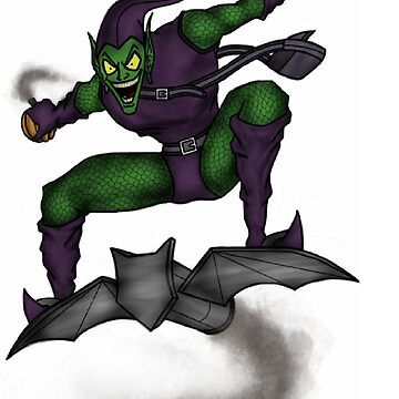 The Green Goblin by SamHallPOA