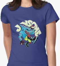Jawsome Womens Fitted T-Shirt