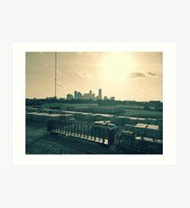 City of Houston  Art Print