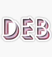 Deb Sticker