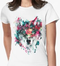 Wolf II Women's Fitted T-Shirt