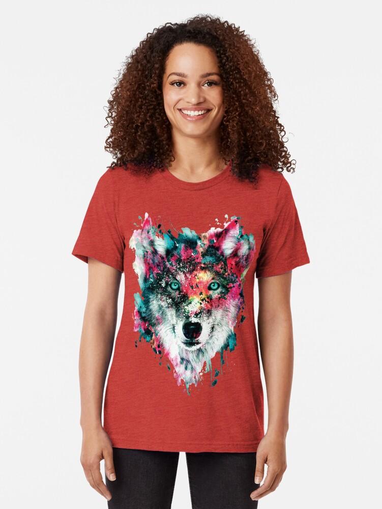 Alternative Ansicht von Wolf II Vintage T-Shirt