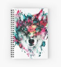 Wolf II Spiral Notebook