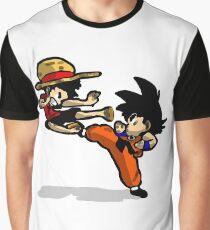 son goku vs luffy Graphic T-Shirt