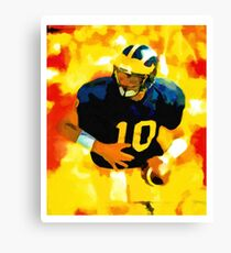 Mr. Tom Brady at Michigan Canvas Print