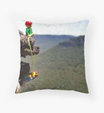 Sun in your eyes Throw Pillow