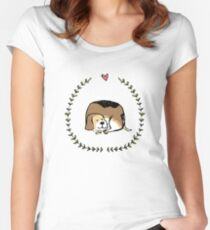 sleepy times Women's Fitted Scoop T-Shirt