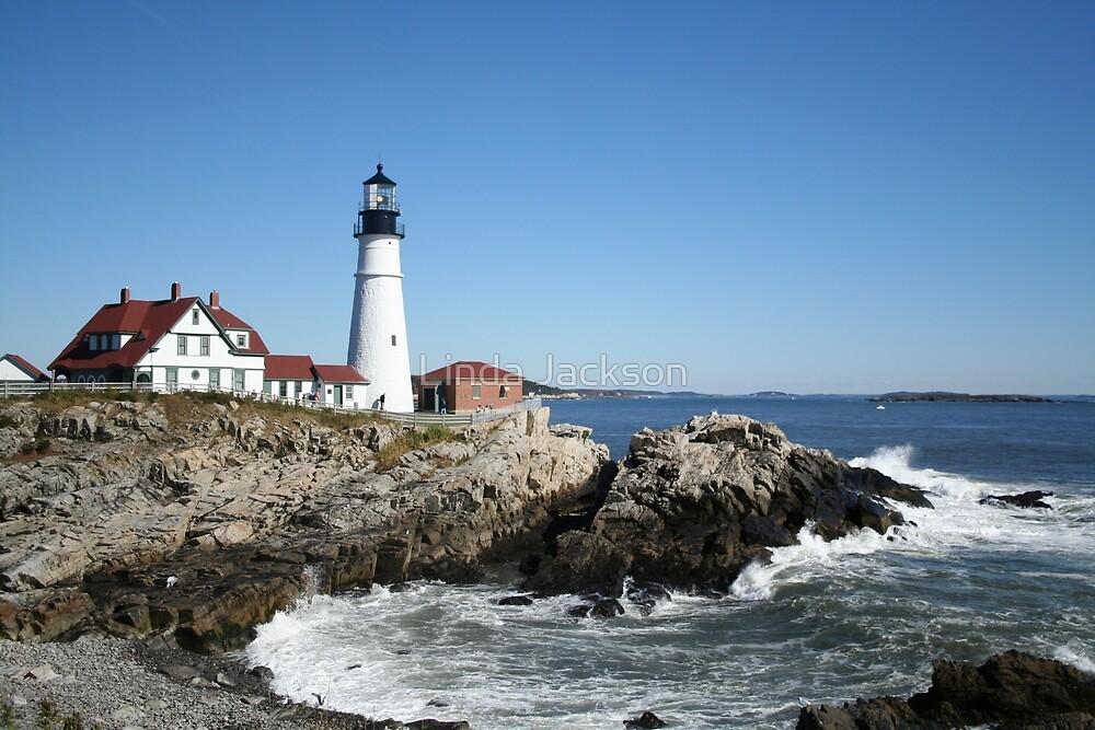 Portland Head Light House, 9000 views! by Linda Jackson