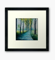 The Drove Framed Print