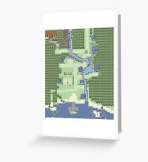 Pallet Town Greeting Card