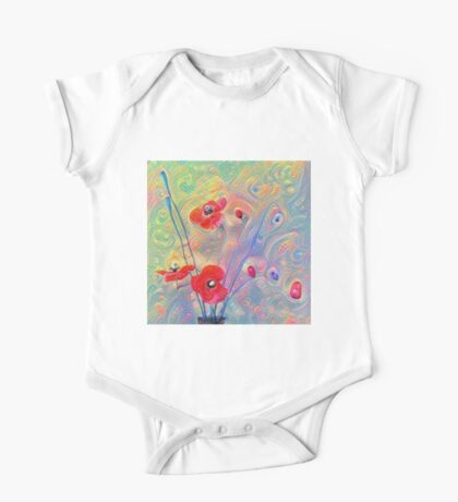 #Deepdreamed Poppies Kids Clothes