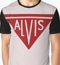 Alvis automobiles classic car logo remake Graphic T-Shirt