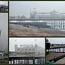 Brighton Pier Collage by Dorothy Berry-Lound
