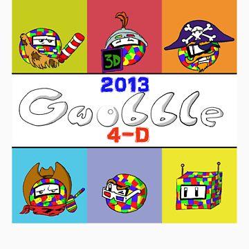 Gwobble 2013 4-D by NesQuick