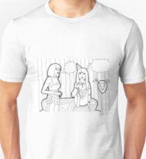 Color me:  Party Moment Four Unisex T-Shirt