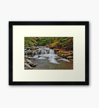 The Roar of Falling Water Framed Print