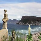 Its all about Balance - View of Simons Town by NadineMay