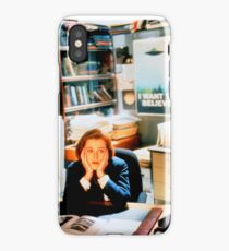 DANA SCULLY x files iPhone Case