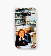 DANA SCULLY x files Samsung Galaxy Case/Skin