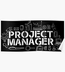 proud project manager  Poster
