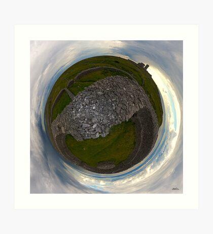 Dun Eochla, Inishmore, Aran Islands Art Print
