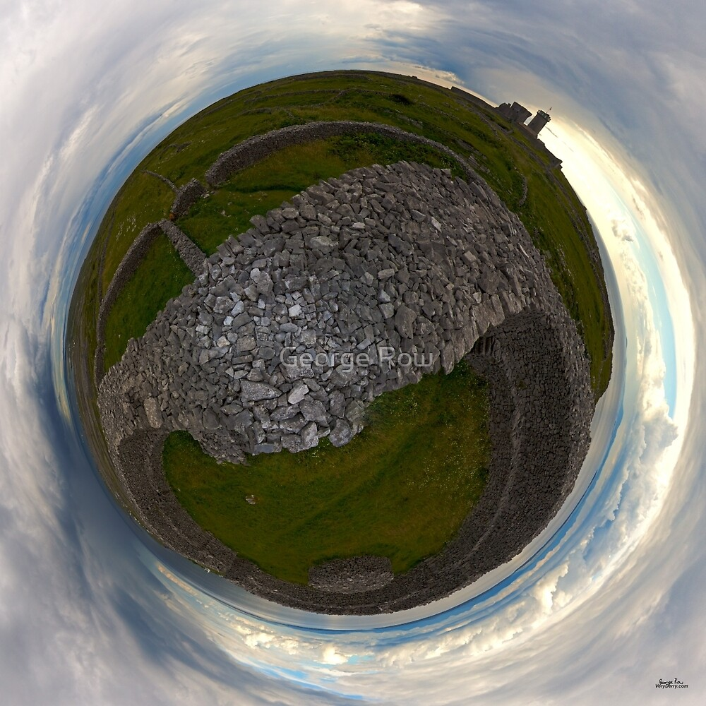 Dun Eochla, Inishmore, Aran Islands by George Row