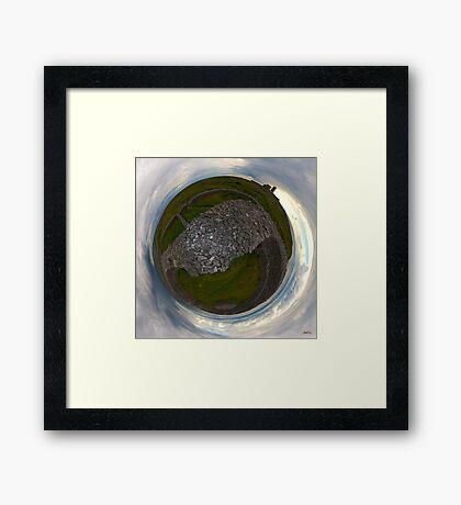 Dun Eochla, Inishmore, Aran Islands Framed Print