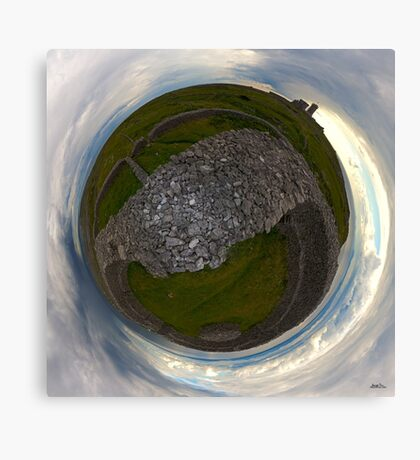 Dun Eochla, Inishmore, Aran Islands Canvas Print