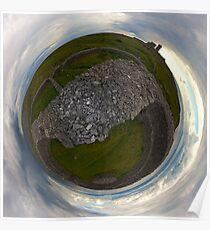 Dun Eochla, Inishmore, Aran Islands Poster