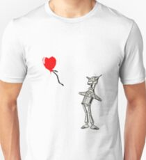 Your Heart Will Float Away Tinman Unisex T-Shirt