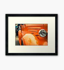 30s Roadster Framed Print