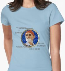 I'm a Showboat and a Little Bit of a Prick Women's Fitted T-Shirt