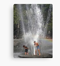 Summer Time Heat Relief  Canvas Print