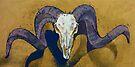 Ram Skull by Michael Creese