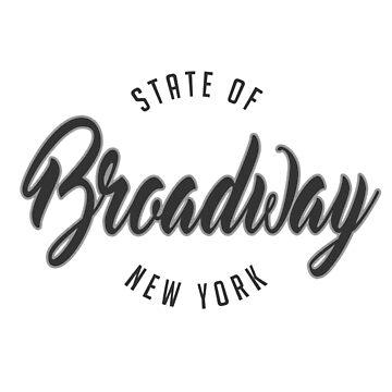 Broadway, New York by 3vanjava