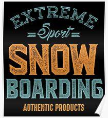 Snowboarding m1c Poster