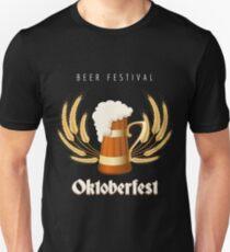 Beer Festival Emblem T-Shirt
