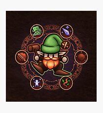 Gnome Photographic Print