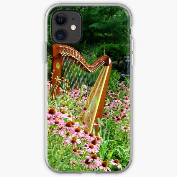 Floral Harp II iPhone Soft Case