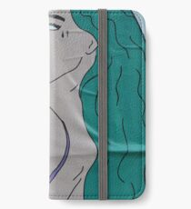 the strong beauty with the green hair iPhone Wallet/Case/Skin
