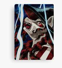 Vampire Hunter Pony Crossover Canvas Print