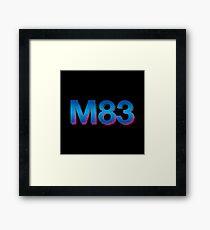 m 83 logo Framed Print