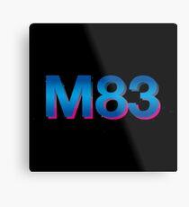 m 83 logo Metal Print
