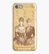 Sisters Emmaline And Cornelia Always Wore The Biggest Hats iPhone Case/Skin