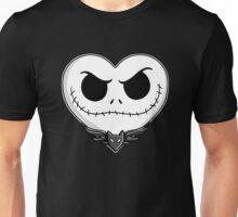 Jack Skellington Heart Art  Unisex T-Shirt
